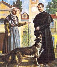 Свети Джовани Боско, източник - cartantica.it