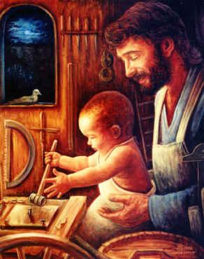 """Когато евангелистите говорят за Свети Йосиф, винаги го наричат """"праведен"""". Това определение най-добре характеризира светостта му, която произтича от пълното и всеотдайно приемане на Божията воля, на Божия план в..."""