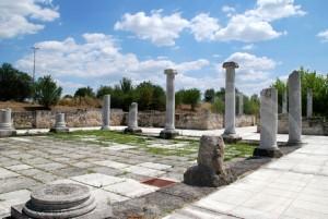 Римският град Абритус край Разград, където загива император Деций