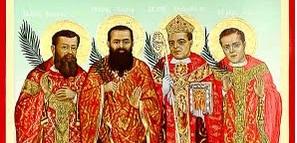 Четива: Римляни 8, 31-39 Псалм 123 Матей 24, 4-13  Църквата отбелязва Празника на тези четирима български Мъченици, пролели кръвта си като свидетели на християнската си вяра и верността си...