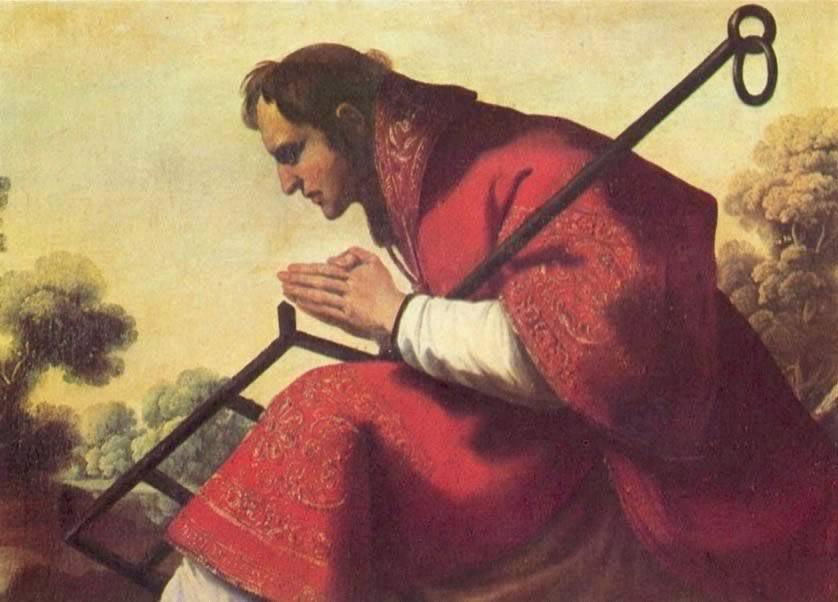 Резултат с изображение за В Рим е изгорен свети Лаврентий Римски.