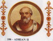Адриан е роден в Рим през 792 г. Произхожда от знатен род, дал двама Папи: Стефан IV (816-817) и Сергий II (844-847). След раждането му неговият баща Тарар се отказва...