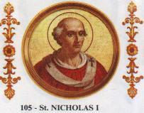 Роден е в Рим ок. 800 г., в благородно семейство. Роднина е на Папа Лъв IV. Баща му Теодор е чиновник в папския двор. Николай израства и е възпитан в...
